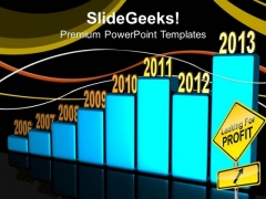 Increase In Profit Business PowerPoint Templates And PowerPoint Themes 1012