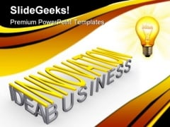 Innovation Idea Business PowerPoint Themes And PowerPoint Slides 0711