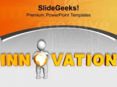 Innovation Is Required For Better Business PowerPoint Templates Ppt Backgrounds For Slides 0713
