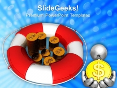 Insurance Of Monetary Business PowerPoint Templates And PowerPoint Themes 0812