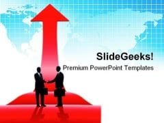 International Business Global PowerPoint Templates And PowerPoint Backgrounds 0711