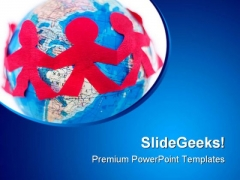 International Relations Globe PowerPoint Templates And PowerPoint Backgrounds 0311