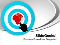 Internet Arrow Clicks Targeted Business PowerPoint Templates Ppt Backgrounds For Slides 1112