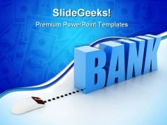 Internet Banking Technology PowerPoint Templates And PowerPoint Backgrounds 0311
