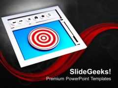 Internet Can Help You To Achieve Your Target PowerPoint Templates Ppt Backgrounds For Slides 0613