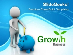 Invest Money For Growth PowerPoint Templates Ppt Backgrounds For Slides 0513