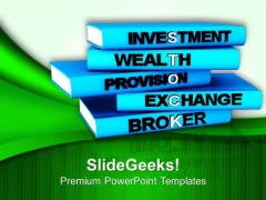 Invest Money In Stocks PowerPoint Templates Ppt Backgrounds For Slides 0613