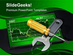 Investment Adjustments Business PowerPoint Themes And PowerPoint Slides 0211