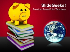 Investment With Global Business PowerPoint Templates And PowerPoint Themes 0812