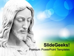 Jesus Christ Christian PowerPoint Templates And PowerPoint Themes 0712
