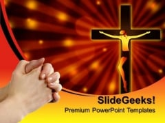 Jesus Christ Church PowerPoint Templates And PowerPoint Themes 0812