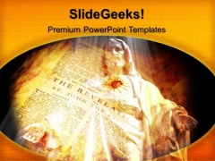 Jesus Christianity PowerPoint Templates And PowerPoint Themes 0912