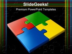 Jigsaw Puzzles Business PowerPoint Themes And PowerPoint Slides 0411