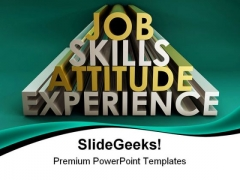 Job Skills Business PowerPoint Templates And PowerPoint Backgrounds 0411