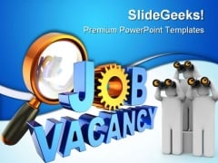 Job Vacancy Future PowerPoint Themes And PowerPoint Slides 0411