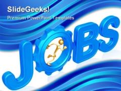 Jobs Future PowerPoint Template 1110