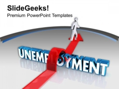 Jump The Boundaries For Success PowerPoint Templates Ppt Backgrounds For Slides 0413