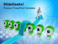 Jump The Unneccesary Question PowerPoint Templates Ppt Backgrounds For Slides 0413