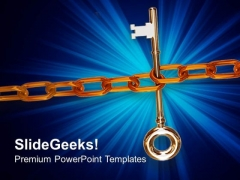Key Chain Success PowerPoint Templates And PowerPoint Themes 0912