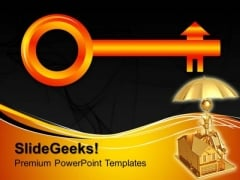 Key House PowerPoint Templates And PowerPoint Themes 1012