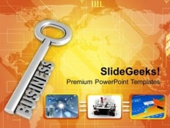 Key To Business Solution Development Process PowerPoint Templates Ppt Backgrounds For Slides 0313