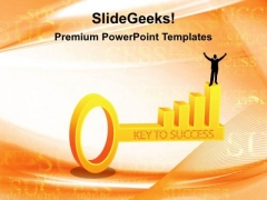 Key To Success Business PowerPoint Templates And PowerPoint Themes 0212