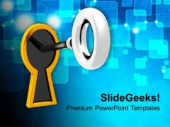 Key To Success Business PowerPoint Templates Ppt Backgrounds For Slides 0213