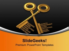 Key To Success Innovation Business Concept PowerPoint Templates Ppt Backgrounds For Slides 0113