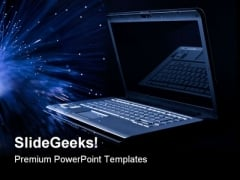 Laptop Background Computer PowerPoint Themes And PowerPoint Slides 0711