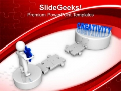 Last Jigsaw Puzzle Creativity Strategy Business PowerPoint Templates And PowerPoint Themes 1112