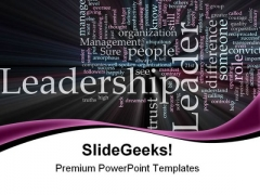 Leader03 Leadership PowerPoint Templates And PowerPoint Backgrounds 0611