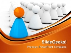 Leader04 Leadership PowerPoint Templates And PowerPoint Backgrounds 0711