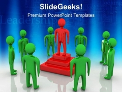Leader Win Business PowerPoint Templates And PowerPoint Themes 0512