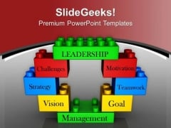 Leadership Concept And Business Management PowerPoint Templates Ppt Backgrounds For Slides 0413