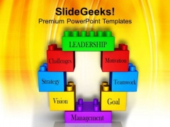 Leadership Concept Presented Business PowerPoint Templates Ppt Backgrounds For Slides 0413
