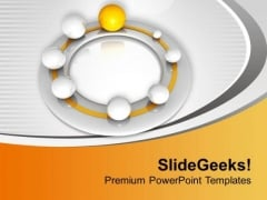 Leadership Skills Can Make You Different PowerPoint Templates Ppt Backgrounds For Slides 0413