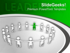 Leadership Skills Make You Stand Out PowerPoint Templates Ppt Backgrounds For Slides 0413