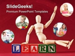 Learn Education PowerPoint Backgrounds And Templates 0111