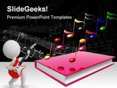 Learn Music PowerPoint Templates And PowerPoint Backgrounds 0711