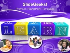 Learning Styles PowerPoint Templates And PowerPoint Themes 0912