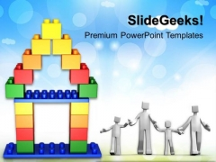 Lego Home Construstion PowerPoint Templates And PowerPoint Themes 0412