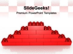 Lego Wall Construction PowerPoint Templates And PowerPoint Themes 0512