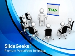 Lessons Of Team Work PowerPoint Templates Ppt Backgrounds For Slides 0713