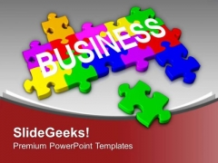 Link All The Parts Of Business PowerPoint Templates Ppt Backgrounds For Slides 0313