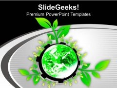 Live An Eco Friendly Lifestyle PowerPoint Templates Ppt Backgrounds For Slides 0713