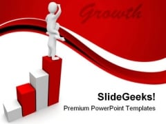 Looking For Growth Success PowerPoint Themes And PowerPoint Slides 0811