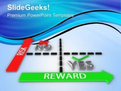 Loss Or Profit As Risk Or Reward In Business PowerPoint Templates Ppt Backgrounds For Slides 0313