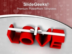 Love Forms The New Relationships PowerPoint Templates Ppt Backgrounds For Slides 0713
