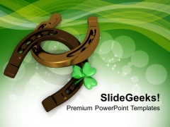 Lucky Symbols Of Irish Traditions PowerPoint Templates Ppt Backgrounds For Slides 0313