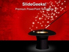 Magic Wand Festival PowerPoint Template 0910
